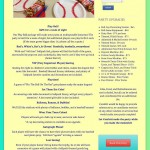 Parties by Confetti theme page