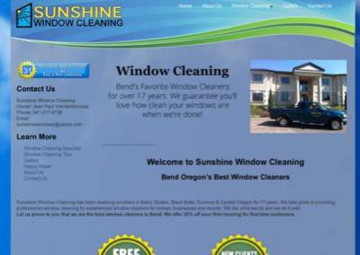 Website Redesign – Sunshine Window Cleaning