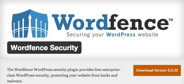 WordPress security Wordfence